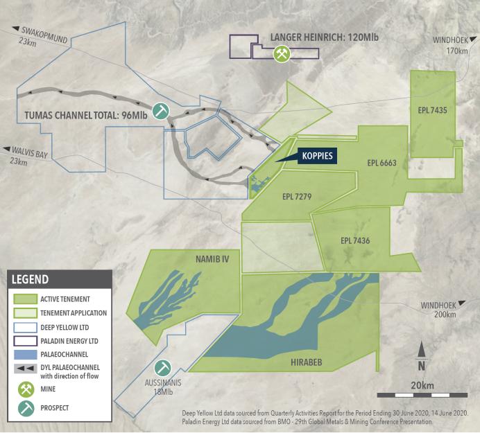 Figure 2Calcrete Hosted Uranium Deposition Model – Erongo Region of Namibia